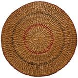 Round straw matt Stock Photography