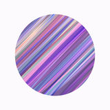 Round Striped Painted Background. This is file of EPS10 format Royalty Free Stock Images
