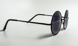 Round Sunglasses. On a white background Stock Images