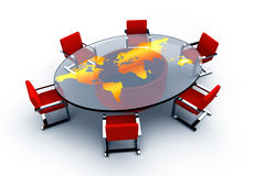 Round table Royalty Free Stock Images