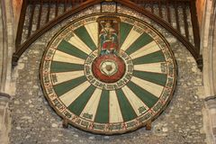 Round Table King Arthur, Winchester, England, royalty free stock image