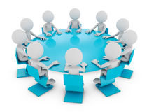 The round table Royalty Free Stock Photo
