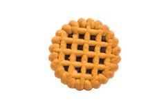 Round tasty cookies Stock Photo