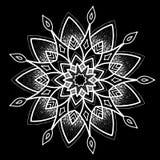 Round tattoo pattern Stock Image