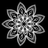 Round tattoo pattern Stock Images