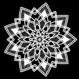 Round tattoo pattern Stock Photography
