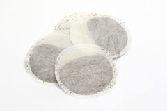 Round tea bags Royalty Free Stock Photography