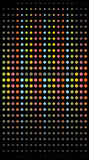 Round texture. The round rainbow bright texture Stock Photography