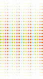 Round texture. The round rainbow bright texture Royalty Free Stock Image