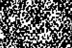Round Texture Pixels. Dark Pixel Abstract Mosaic Design Background. Vector illustration. Royalty Free Stock Photos