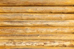 Round timber Stock Photo
