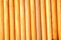 Round timber wood Stock Photography