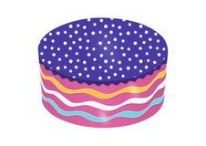 Round torta wektor Obrazy Stock