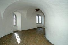 Round Tower 1. The Historic Landmark ' Round Tower' in copenhagen seen from the spiral walk Stock Image