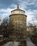 Round Tower. Tower near Prenzlauer Berg in Berlin, Germany Royalty Free Stock Images