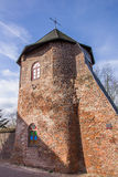 Round tower in the city wall of Xanten Royalty Free Stock Photo