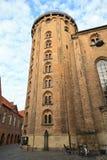 Round Tower in Copenhagen stock image