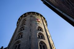 The Round Tower in Copenhagen royalty free stock images
