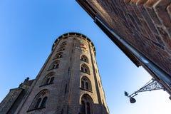 The Round Tower in Copenhagen, Denmark royalty free stock photo
