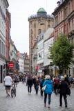 Round Tower in Copenhagen royalty free stock photo