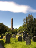 Round Tower Glendalough Royalty Free Stock Photos