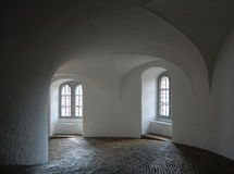 Round tower interior Stock Photography