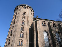 Round Tower Of Copenhagen Royalty Free Stock Images