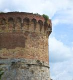A Round Tower of San Gimignano royalty free stock image