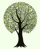 Round tree Royalty Free Stock Images