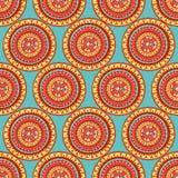 Round tribal patterns Stock Photos