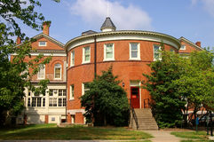 Round university building. Round building at a university Royalty Free Stock Photography