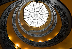 Round Vatican steps Royalty Free Stock Photography
