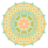 Round vector ornament. Stock Photography