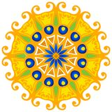 Round Vector Ornament Royalty Free Stock Images