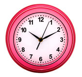 Round wall clock Royalty Free Stock Photo