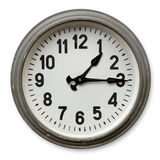 Round wall clock Royalty Free Stock Images