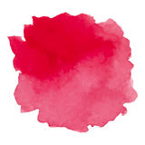 Round watercolor stains on white background Royalty Free Stock Photo