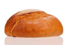 Round white bread Stock Photos