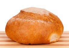Round white bread Stock Image