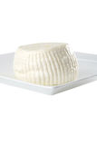 Round white soft cheese Stock Photography