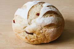 Round whole grain bread Royalty Free Stock Photos