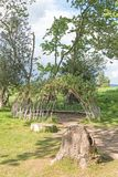 Round Willow Hide Royalty Free Stock Image