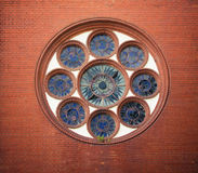 Round window Royalty Free Stock Photography