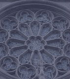 Round Window. Another style window Grace Catherdal Church,SanFrancisco,California stock photos
