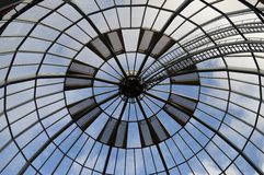 Round window cover of heuvel gallery in Eindhoven Royalty Free Stock Image