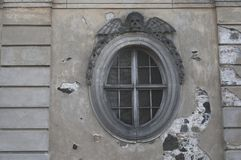 Free Round Window Of The Church Morgue Royalty Free Stock Photography - 116011317