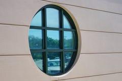 Round window Stock Photo