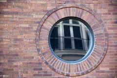Free Round Window With Reflection Stock Photo - 54045340