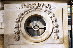 Round windows Stock Photo