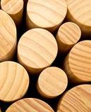Round wood Royalty Free Stock Image